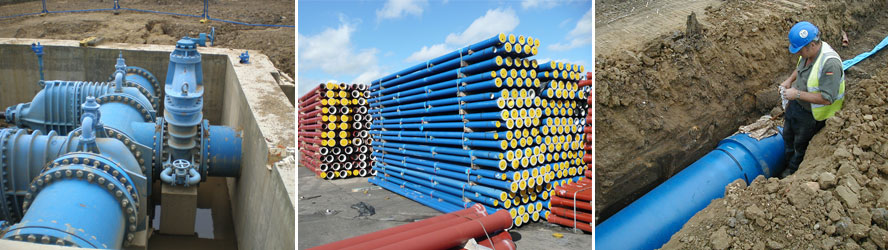 Ductile-Iron-Water-Pipes